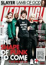 Kerrang! Magazine May 2018: TURNSTILE PVRIS Lynn Gunn LAMB OF GOD Slayer Palaye