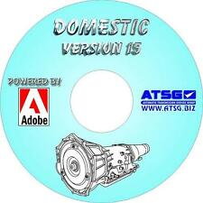 1986 - 2017 ATSG Domestic Automatic Transmission Rebuild Manuals CD-ROM