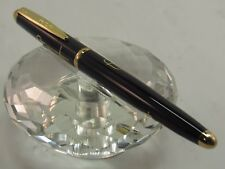 HIGH QUALITY DEWEN BLACK AND GOLD DESIGN ROLLER BALL PEN