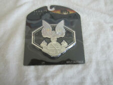 HALO REACH UNSC BELT BUCKLE RARE HARD FROM 2010 NEW IN PACKAGE XBOX 360
