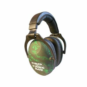 Pro Ears - ReVO - Hearing Protection - NRR 25-Youth and Women Ear Muffs - Zombie
