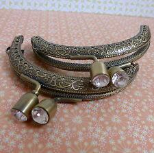Bronze purse clasp,bag making findings, purse frame,bag frame