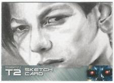 Terminator 2 Judgment Day Sketch Card drawn by Jon Gregory [ B ]