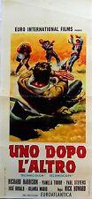 locandina playbill UNO DOPO L ALTRO western nick howard Nostro richard harrison