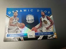KEVIN Durant STEPHEN CURRY 2017-18 Panini Essentials DYNAMIC DUOS #33