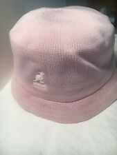c1db8b8241f1f Kangol Tropic Bin Bucket Pink Spring   Summer Hat Size Medium