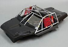 1/10 Scale RC Truck Short Course Body INTERIOR COCKPIT W/ ROLL CAGE - Finished -