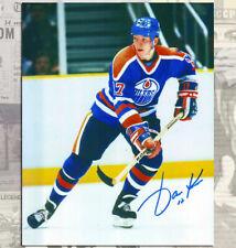 Jari Kurri Edmonton Oilers Autographed 8x10