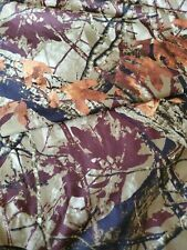 Mainstay Camo King Size Sheet Set Pillowcases Camouflage Hunter Outdoor