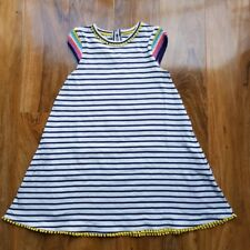 Mini Boden Girls size 5-6 Years Crochet Sleeve COTTON Sundress G0491 BRAND NEW