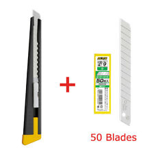 Black S-type cutter 2B OLFA with 50 replacement Blades SET Japan free shipping