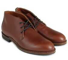 New Red Wing Shoes 9048 Beckman Chukka Leather Boot, Teak Featherstone, sz 13D