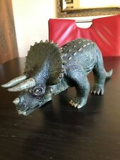 Vintage 1999 Triceratops roaring & moving dinosaur action figure WOW WEE