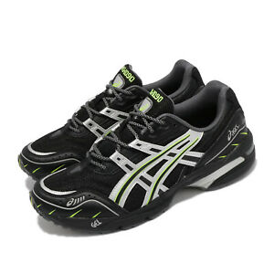 Asics GEL-1090 Black Silver Green Men Unisex Casual Lifestyle Shoes 1201A041-001