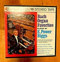 Bach Organ Favorites E. Power Biggs Reel to Reel Tape 7 1/2 IPS Columbia