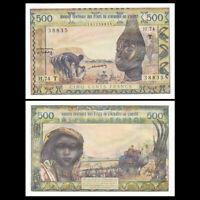 West African States Togo 500 Francs, ND(1959-61)), P-802Tm, UNC-