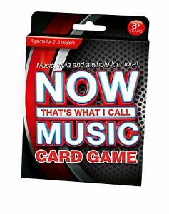 Now That's What I Call Music Trivia Card Game Sony PL6795