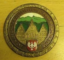 1950 germany medal frankfurt ef wiedmann 30.7 1950 3 inches