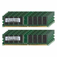 10X 1GB PC3200 DDR1 400MHz 184Pin DIMM Desktop Memory For Intel&AMD RL1US