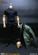 WOLFKING 1/6 WK89014B Jason Statham Headsculpt&Clothes Suit Set Fit 12'' Figures