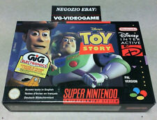 TOY STORY DISNEY !!!!!  NUOVO !!!  SUPER NINTENDO