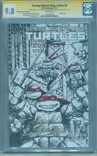 Teenage Mutant Ninja Turtles 4 CGC SS 9.8 Eastman RRP Sketch Top 1 Variant