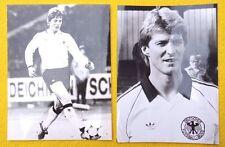 karl-heinz förster germany soccer national team 1986 press photos lot of 2