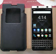 BlackBerry KeyOne BBB100-1 - Silver - 32GB - Rogers + OEM Pocket Case - PKB100