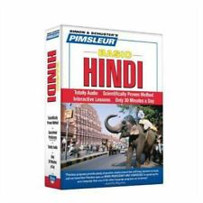 Pimsleur Hindi Basic Course - Level 1 Lessons 1-10 CD: Learn to Speak and Unders