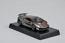 1:64 Kyosho Diecast Car Model Grey Lamborghini Children Birthday Gift Minicar