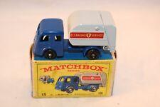 Matchbox Lesney 15 Dennis refuse truck BPW very near mint in box