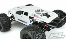 Proline Racing - Pre-Cut Brute Bash Armor (White) Body, for Traxxas E-Revo 2.0