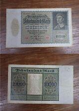 Billet Reichbanknote 10000 Mark Zehntausend BERLIN 1922 GERMANY DEUTSCHLAND (2)