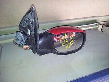 peugeot 206 O/S L/T electric mirror black and orange plug.