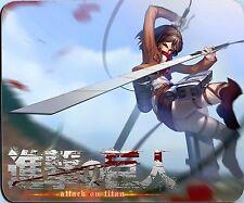 Mikasa Ackerman Attack on Titan Mouse Pad