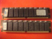 Vintage IBM SEC PNY SAMSUNG Lot 2 X 8 M° 16-MB RAM MEMORY edo 72 pins 60 ns