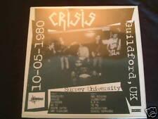 Crisis - Guilford 10/05/1980 Ltd LP New Death In June