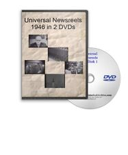 Universal Newsreels 1946 News Howard Hughes, V-2 Rocket Etc.Two DVDs A587-88
