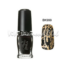 Shiseido MAJOLICA MAJORCA Crack Nails Polish BK999 NEW Limited Edition Color