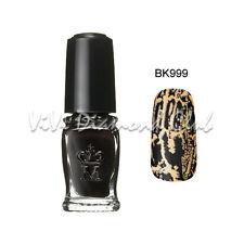 Shiseido MAJOLICA MAJORCA Crack Nails Polish BK999 NEW Limited Edition Color