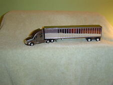 "TONKIN 1/87th KENWORTH T-700 TRAC / SPREAD AXLE TRAILER,"" PEWTER """