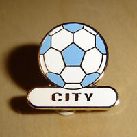 City football pin badge - Manchester / Coventry