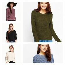 Ladies New Ex H&M Cable Knitted Full Sleeves Women Jumper Thick Sweater Tops