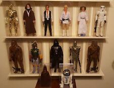 """Vintage Star Wars Lot 1978 12"""" Inch Action Figures Boba Fett Darth Vader AFA"""