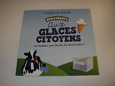 Dossier de presse press book 2017 Glaces BEN & JERRY'S Ice cream
