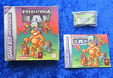 Prehistorik Man, GBA GameBoy Advance Spiel, OVP Anleitung