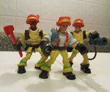 Playskool Adventure Heroes Firemen Firefighters Axe & Water Hose Hasbro 2009