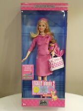 Barbie Legally Blonde 2 Doll Collectors Edition 2003 Elle Woods B9234