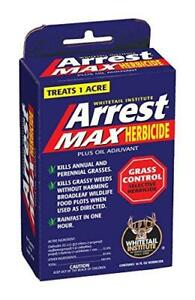 Whitetail Institute Arrest Max Grass Food Plot Herbicide, 1 Pint (1 Acre), One