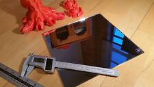SPECCHIO in vetro STAMPANTE 3d, 220mm x 220mm x 3mm, stampa Letto Specchio in vetro borosilicato